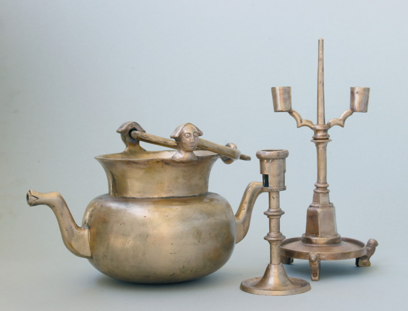Candlesticks and laver