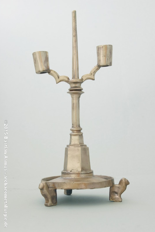 Candlestick of the 14th century